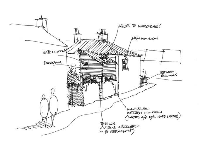 architect design sketch norwich