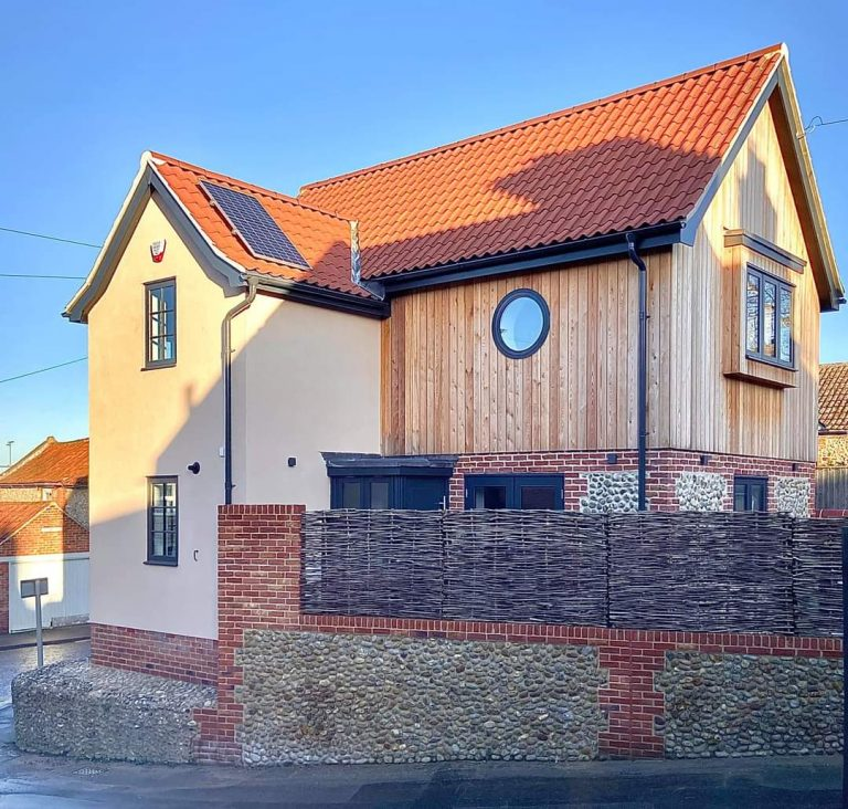 wells next the sea new build architecture project side view